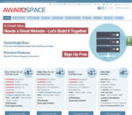 AwardSpace.com website