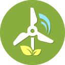 Wind Energy Icon Free Icons By Prchecker Info