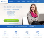 BlueHost website