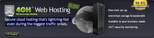 GoDaddy 4G Web Hosting