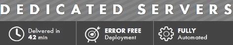 SingleHop Dedicated Servers