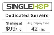 Singlehop Cheap Dedicated Servers