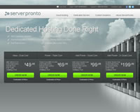ServerPronto Website