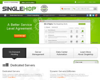 SingleHop Website